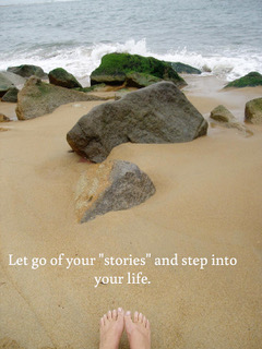 Leave your stories behind